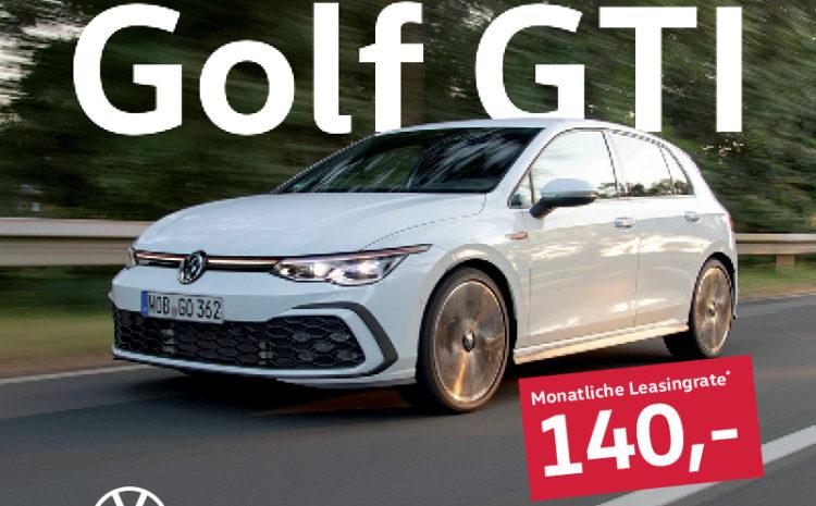 Besser, schneller, driftiger. Der neue Golf 8 GTI.
